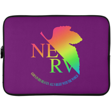 Load image into Gallery viewer, Eva II Laptop Sleeve by palm-treat.myshopify.com for sale online now - the latest Vaporwave & Soft Grunge Clothing