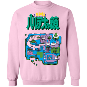 Konami Island Crewneck Sweatshirt by palm-treat.myshopify.com for sale online now - the latest Vaporwave & Soft Grunge Clothing