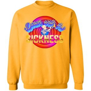 Down With the Sickness Crewneck Sweatshirt