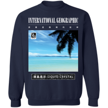 Load image into Gallery viewer, International Geographic Crewneck Sweatshirt by palm-treat.myshopify.com for sale online now - the latest Vaporwave & Soft Grunge Clothing