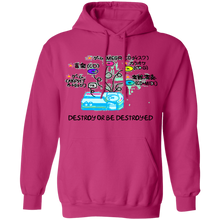 Load image into Gallery viewer, Destroy or Be Destroyed Hoodie by palm-treat.myshopify.com for sale online now - the latest Vaporwave & Soft Grunge Clothing