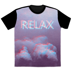Relax All Over T-Shirt by palm-treat.myshopify.com for sale online now - the latest Vaporwave & Soft Grunge Clothing