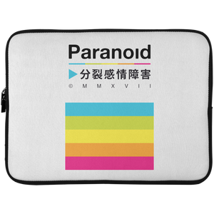 Paranoid Laptop Sleeve - 15 Inch