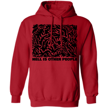 Load image into Gallery viewer, Hell is Other People Hoodie by palm-treat.myshopify.com for sale online now - the latest Vaporwave & Soft Grunge Clothing