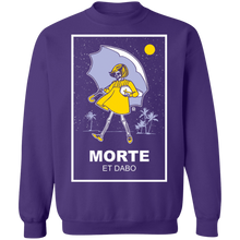 Load image into Gallery viewer, Morte Et Dabo Crewneck Sweatshirt by palm-treat.myshopify.com for sale online now - the latest Vaporwave & Soft Grunge Clothing