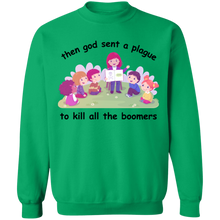 Load image into Gallery viewer, Boomer Plague Crewneck Sweatshirt