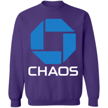Load image into Gallery viewer, Chaos Crewneck Sweatshirt by palm-treat.myshopify.com for sale online now - the latest Vaporwave & Soft Grunge Clothing