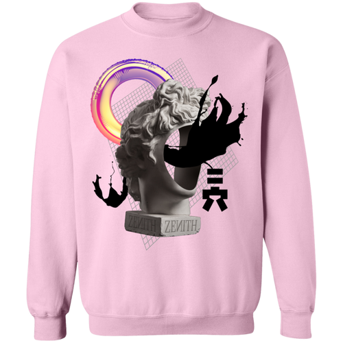 Zenith Crewneck Sweatshirt by palm-treat.myshopify.com for sale online now - the latest Vaporwave & Soft Grunge Clothing