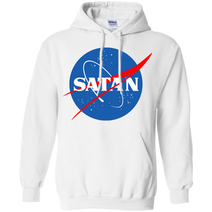 Satan Nasa devil ufo outerspace hoodie by palm treat