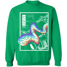 Load image into Gallery viewer, Digital Depression Crewneck Sweatshirt by palm-treat.myshopify.com for sale online now - the latest Vaporwave & Soft Grunge Clothing