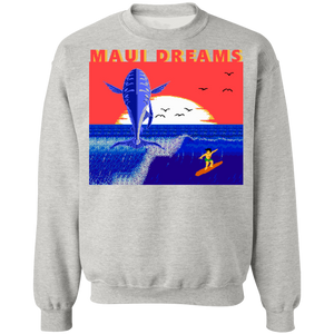 Special 8-bit Stories Maui Crewneck Sweatshirt by palm-treat.myshopify.com for sale online now - the latest Vaporwave & Soft Grunge Clothing