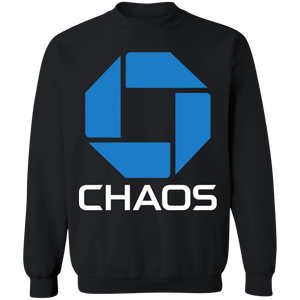 Chaos Crewneck Sweatshirt by palm-treat.myshopify.com for sale online now - the latest Vaporwave & Soft Grunge Clothing