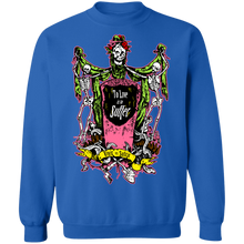 Load image into Gallery viewer, To Live is to Suffer Crewneck Sweatshirt by palm-treat.myshopify.com for sale online now - the latest Vaporwave & Soft Grunge Clothing