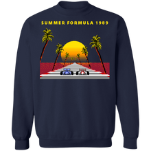 Load image into Gallery viewer, 8-bit Stories 1989 Crewneck Sweatshirt by palm-treat.myshopify.com for sale online now - the latest Vaporwave & Soft Grunge Clothing