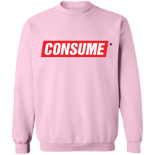 Load image into Gallery viewer, Consume Crewneck Sweatshirt by palm-treat.myshopify.com for sale online now - the latest Vaporwave & Soft Grunge Clothing