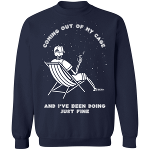 Coming Out of My Cage Crewneck Jumper