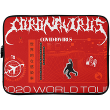 Load image into Gallery viewer, Coronavirus World Tour 2020 Laptop Sleeve - 15 Inch