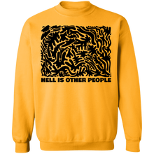 Load image into Gallery viewer, Hell is Other People Blackout Crewneck Sweatshirt