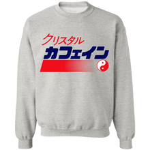 Load image into Gallery viewer, Crystal isded Crewneck Sweatshirt by palm-treat.myshopify.com for sale online now - the latest Vaporwave & Soft Grunge Clothing