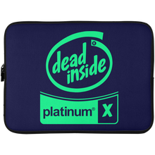 Load image into Gallery viewer, Dead Inside Laptop Sleeve - 15 Inch
