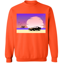 Load image into Gallery viewer, Pink Sunset by 8-Bit Stories by palm-treat.myshopify.com for sale online now - the latest Vaporwave & Soft Grunge Clothing