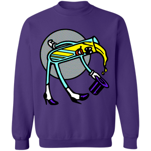 LSD Crewneck Sweatshirt by palm-treat.myshopify.com for sale online now - the latest Vaporwave & Soft Grunge Clothing