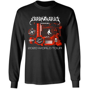Coronavirus World Tour 2020 L/S Tee - Black Ink SKU