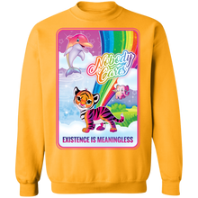 Load image into Gallery viewer, Existence is Meaningless Crewneck Sweatshirt by palm-treat.myshopify.com for sale online now - the latest Vaporwave & Soft Grunge Clothing