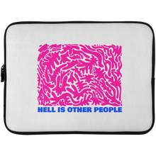 Load image into Gallery viewer, Hell is Other People Laptop Sleeve - 15 Inch