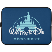 Load image into Gallery viewer, Waiting to Die Laptop Sleeve - 15 Inch