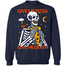 Load image into Gallery viewer, Pizza or Death Crewneck Sweatshirt