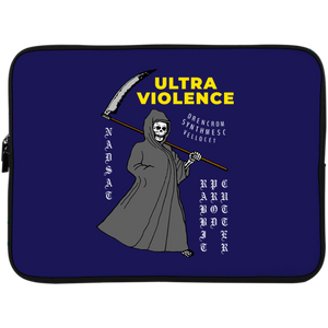 Ultra Violence Laptop Sleeve - 15 Inch by palm-treat.myshopify.com for sale online now - the latest Vaporwave & Soft Grunge Clothing