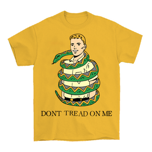 Dont Tread On Me T-Shirt by palm-treat.myshopify.com for sale online now - the latest Vaporwave & Soft Grunge Clothing