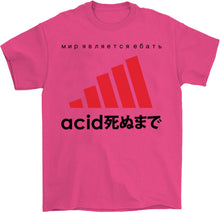 Load image into Gallery viewer, Acid Black T-Shirt by palm-treat.myshopify.com for sale online now - the latest Vaporwave & Soft Grunge Clothing