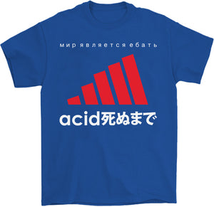 Acid White T-Shirt by palm-treat.myshopify.com for sale online now - the latest Vaporwave & Soft Grunge Clothing