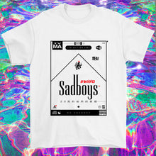 Load image into Gallery viewer, vaporwave sadboys chillwave emo t-shirt cloudrap