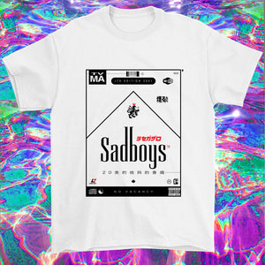 vaporwave sadboys chillwave emo t-shirt cloudrap
