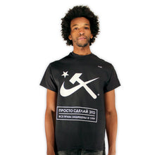 Load image into Gallery viewer, Aesthetic Hammer and Sickle II T-Shirt by palm-treat.myshopify.com for sale online now - the latest Vaporwave & Soft Grunge Clothing