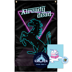 Already Dead Tapestry by palm-treat.myshopify.com for sale online now - the latest Vaporwave & Soft Grunge Clothing