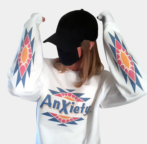 Anxiety Iced Tee Jumper