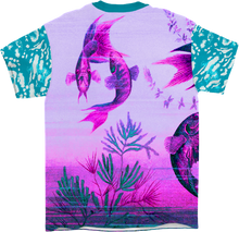 Load image into Gallery viewer, Technicolor River All Over T-Shirt