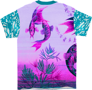 Technicolor River All Over T-Shirt