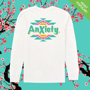 Anxiety Arizona Long Sleeve by palm-treat.myshopify.com for sale online now - the latest Vaporwave & Soft Grunge Clothing