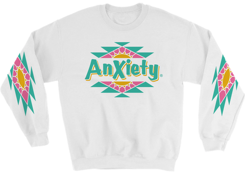 Anxiety Arizona Iced Hooded Sweatshirt (Hoodie)