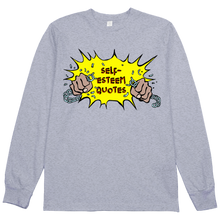 Load image into Gallery viewer, Self Esteem Chain L/S Tee