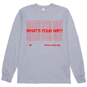What's Your WiFi? L/S Tee