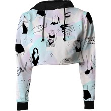 Load image into Gallery viewer, Bang Bang Crop Top Hoodie