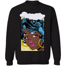 Load image into Gallery viewer, Mod Girl 1 Crewneck Sweatshirt