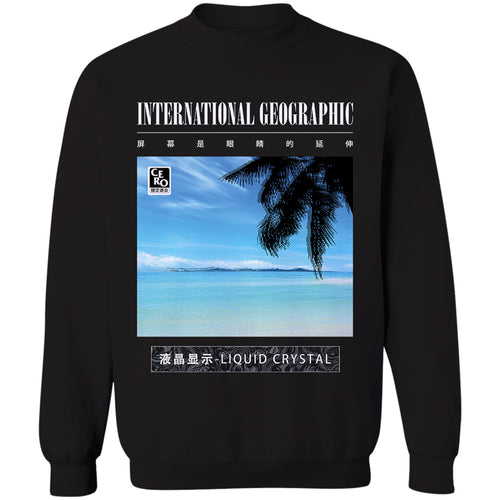 Liquid Crystal Crewneck Sweatshirt