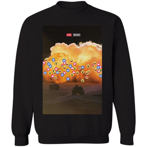 Live React Crewneck Sweatshirt